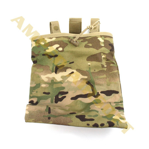 Condor - 3 Fold Mag Recovery Pouch (Dump Pouch) (Multicam) Laying Flat