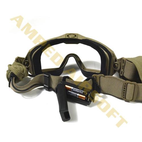 18aa975de0ba3 ... Smith Optics Elite - Outside The Wire (OTW) Turbo Fan Goggles Field Kit  (