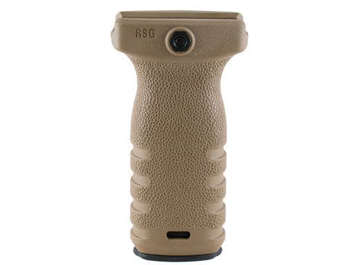 Mission First Tactical - React Regular Short Vertical Grip (Scorched Dark Earth)