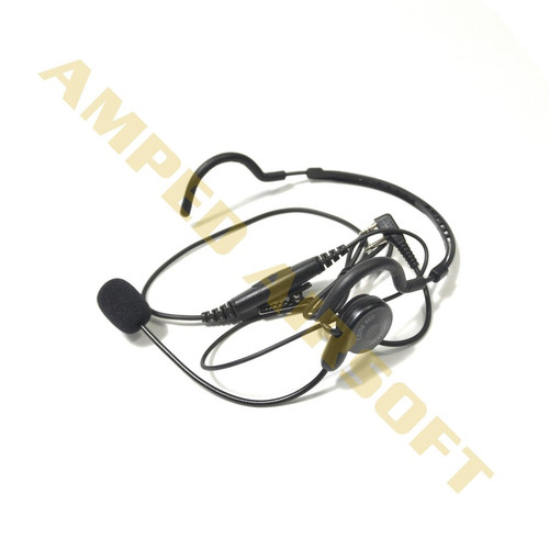 Code Red CQB-M6 Behind Head Headset with Boom Mic | Motorola 1 Pin