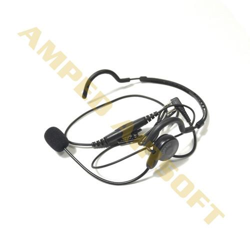 Code Red CQB-M6 Behind Head Headset with Boom Mic | Motorola 1 Pin