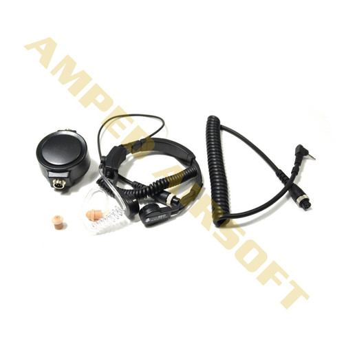 Code Red Headsets - Assault-K Tactical Throat Microphone everything