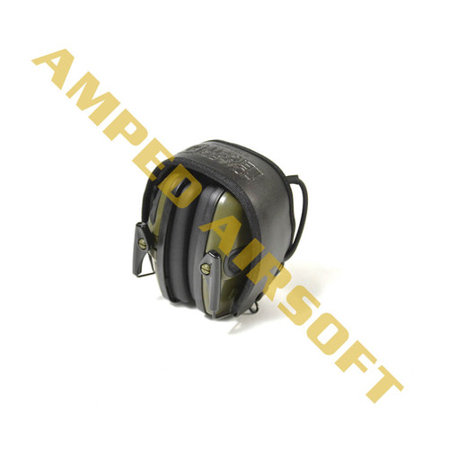 Howard Leight Impact Sport Electronic Earmuff Hearing Protection | Hunter Green