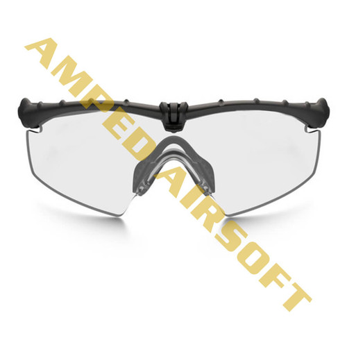 Oakley - SI Ballistic M Frame 3.0 - Black Frame w/ Clear Lens