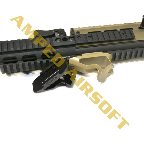 PTS Fortis Shift Short Angle Grip (Rail Mount/Dark Earth)