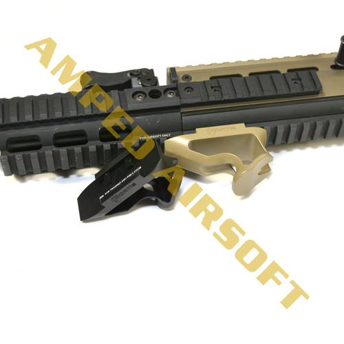 PTS Fortis Shift Short Angle Grip (Rail Mount/Black)