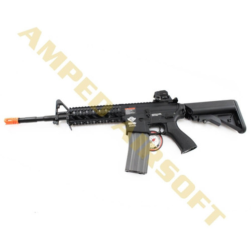 Amped Custom HPA Rifle - G&G Combat Machine CM16 Raider Long (Black)