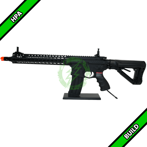 Amped Custom HPA Rifle - G&G Combat Machine CM16 SR-XL