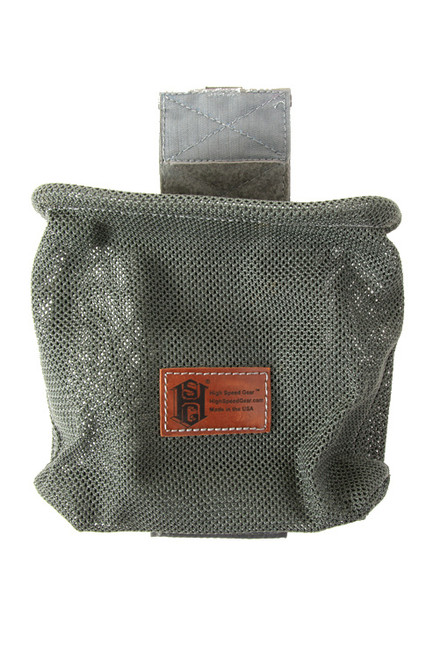 High Speed Gear - Mag-Net Dump Pouch (Olive Drab) Opened