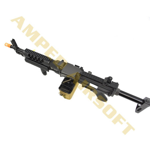 Knights Armament Airsoft - Stoner LMG Top Down View
