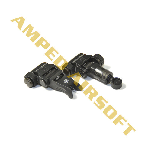 Knights Armament Airsoft - Back Up Iron Sights (Black)