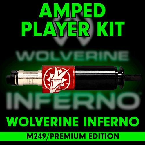 Amped Custom - Wolverine INFERNO Gen 2 M249 Premium Edition Player Kit