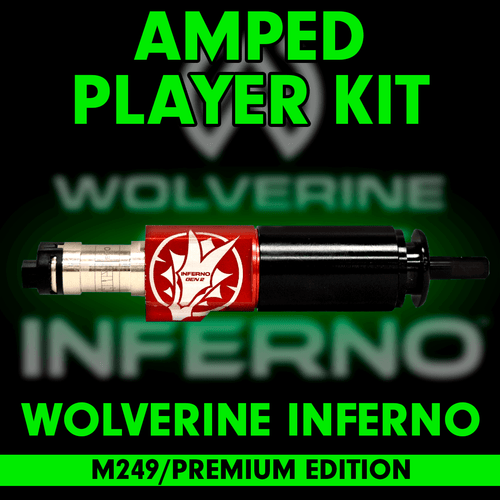 Amped Custom - Wolverine INFERNO Gen 2 M249 Premium Edition Player Kit