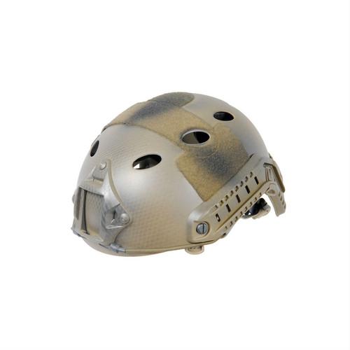 Lancer Tactical - PJ Type Helmet Tan Snake Skin (LG/XL)