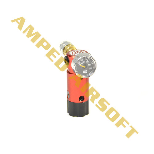 Amped Custom HPA Rig - STORM OnTank (Red)