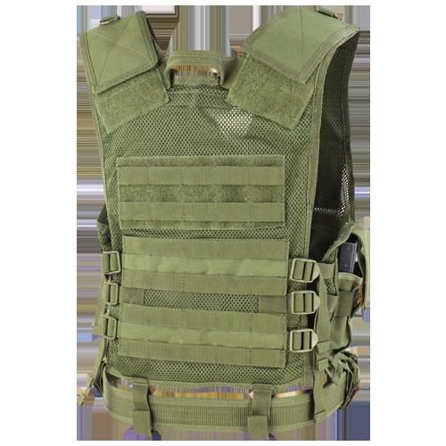 Condor - Cross Draw Vest (Olive Drab) Back