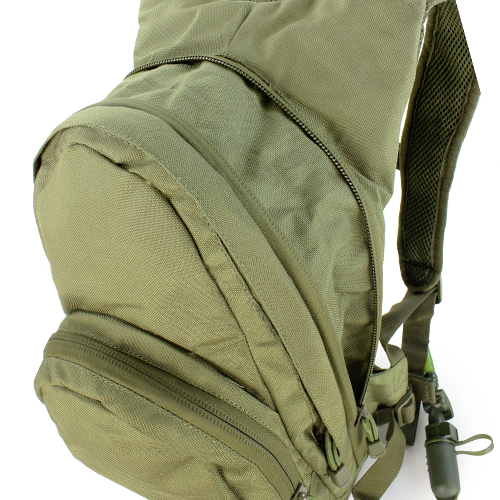 Condor - Hydration Pack (Olive Drab) Expanded Compartment