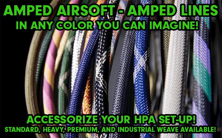 amped airsoft lines igl agl standard heavy weave premium