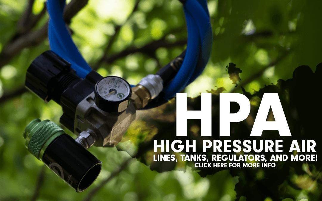 amped airsoft hpa high pressure air lines tanks regulators and more