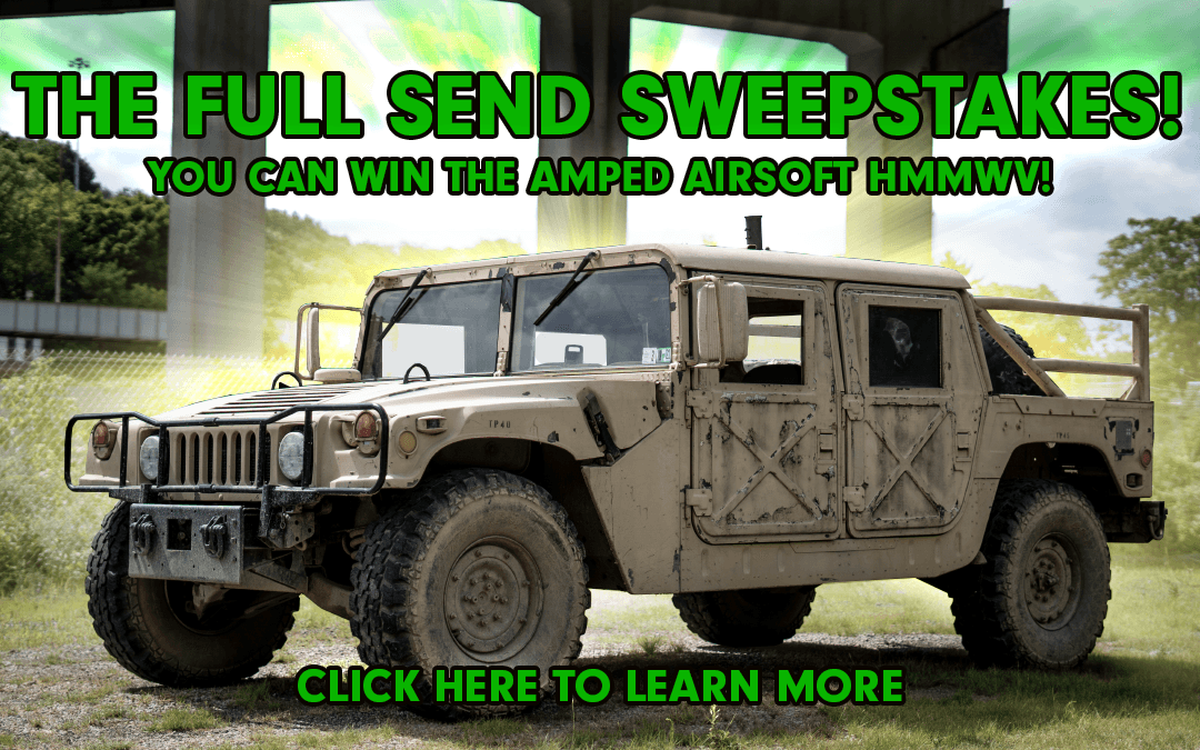 amped airsoft full send sweepstakes hmmwv giveaway