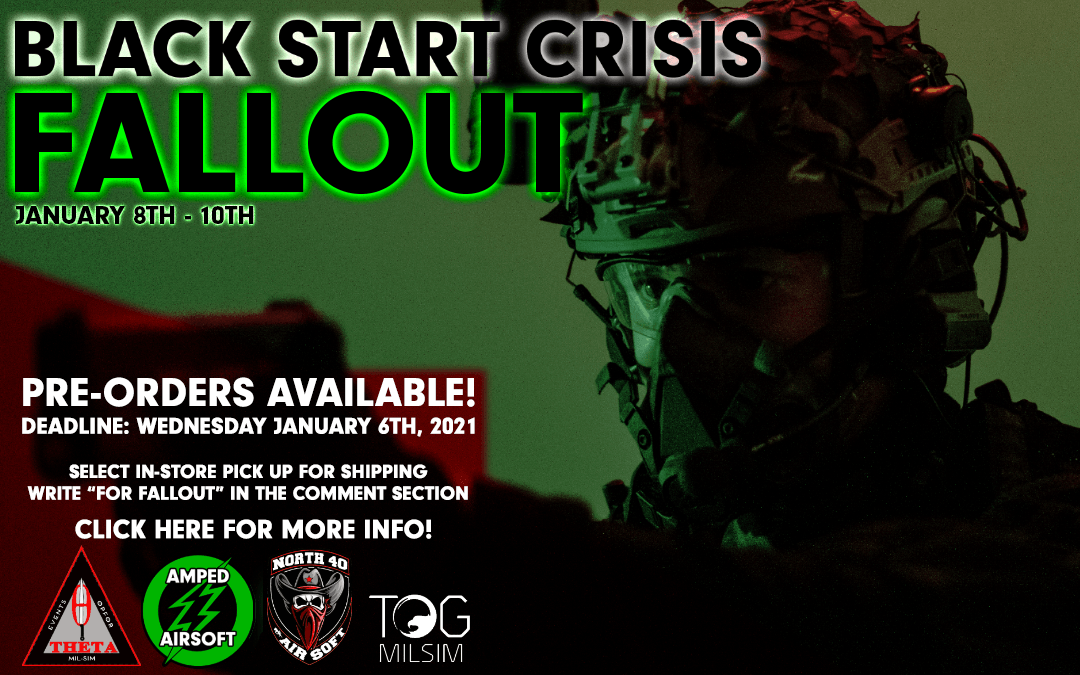 amped airsoft theta events black start crisis fallout preorder event
