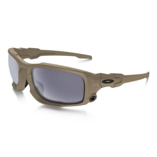 feb0863996 Oakley - SI Ballistic Shocktube (Terrain Tan Frame  w Grey Lens ...