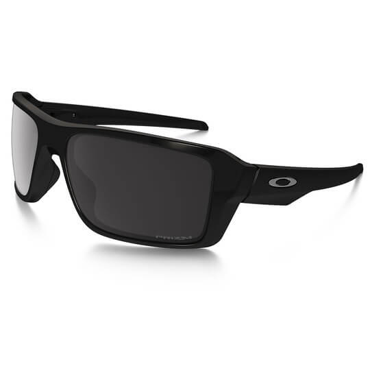 077b99ae070 Oakley - Double Edge (Polished Black Frame w  Prizm Black Polarized Lens)