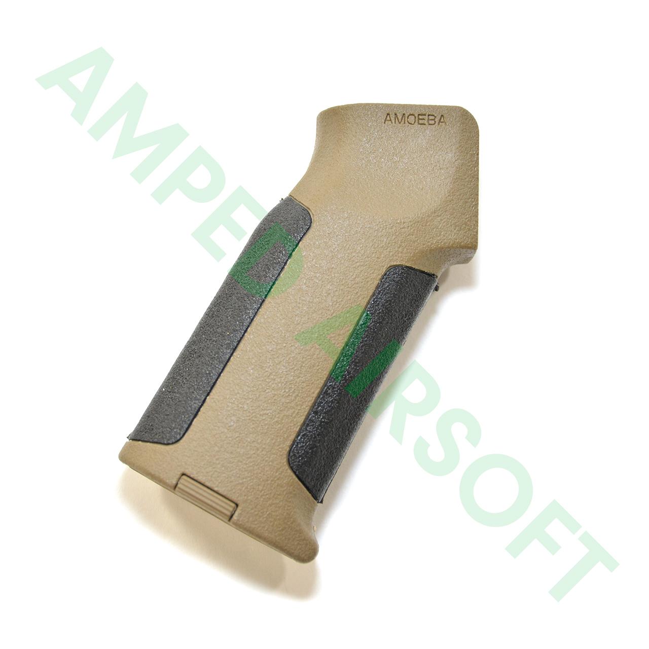 Amoeba - Pro Beavertail Straight Backstrap M4 Grip (Black/Dark Earth)