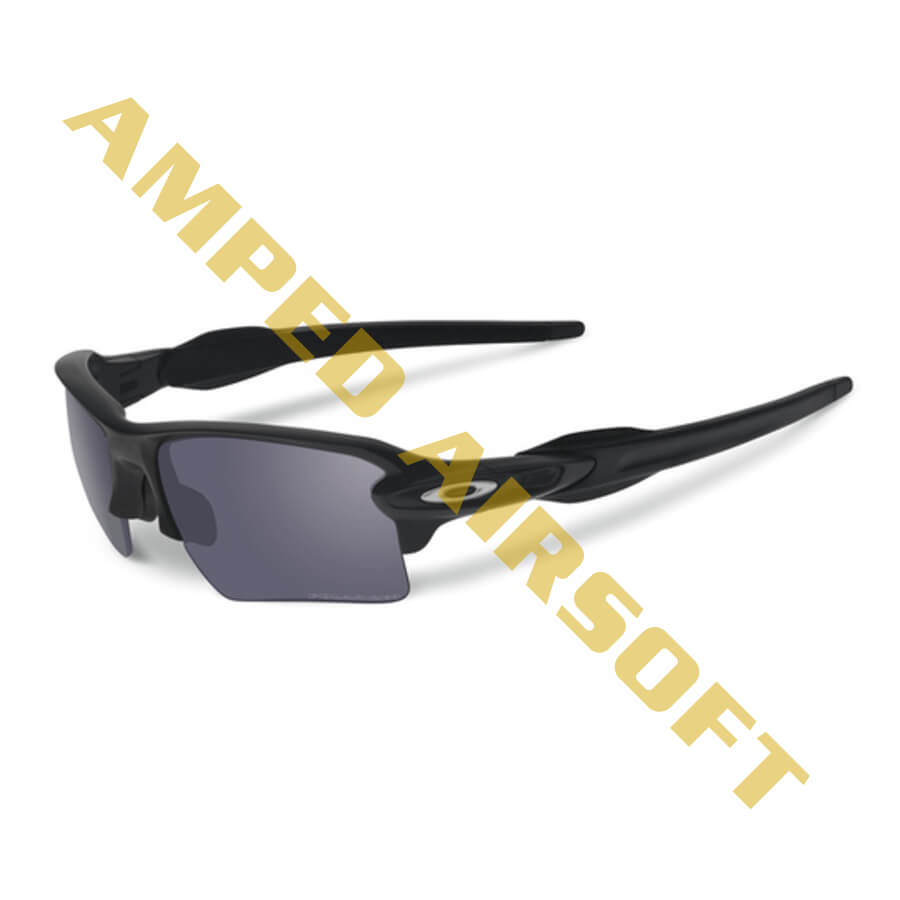 5feda895bb6ff Oakley - SI Flak 2.0 XL - Matte Black Frame w  Polarized Grey Lens