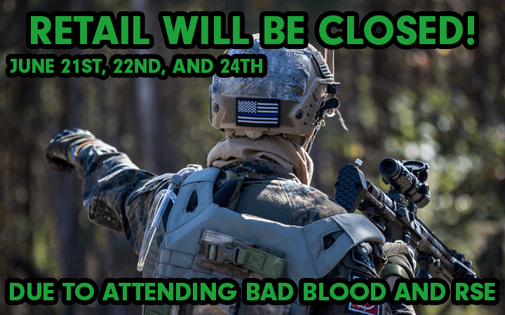 amped airsoft retail closed bad blood red storm east events vending attending