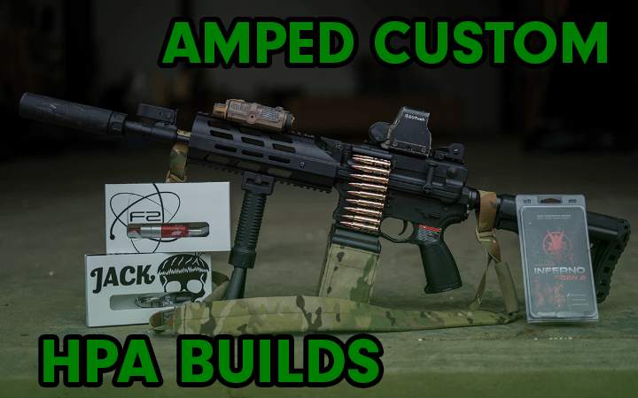 amped airsoft custom hpa builds bundles polarstar wolverine redline