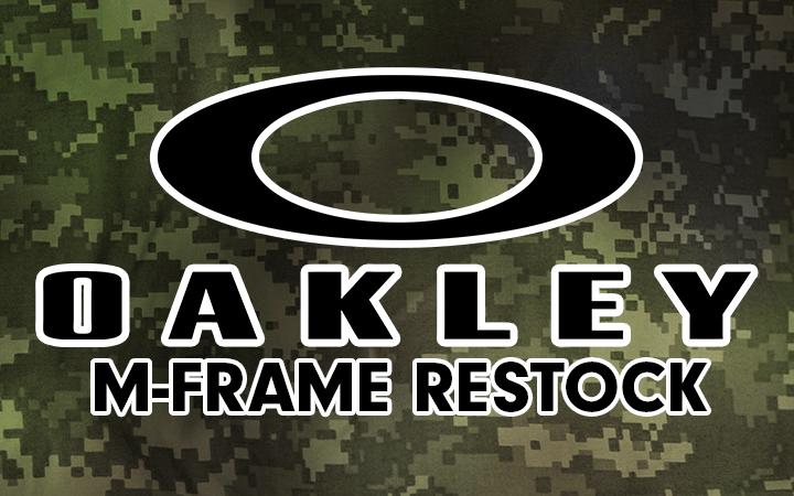 amped airsoft oakley m frame restock ballistic eyewear