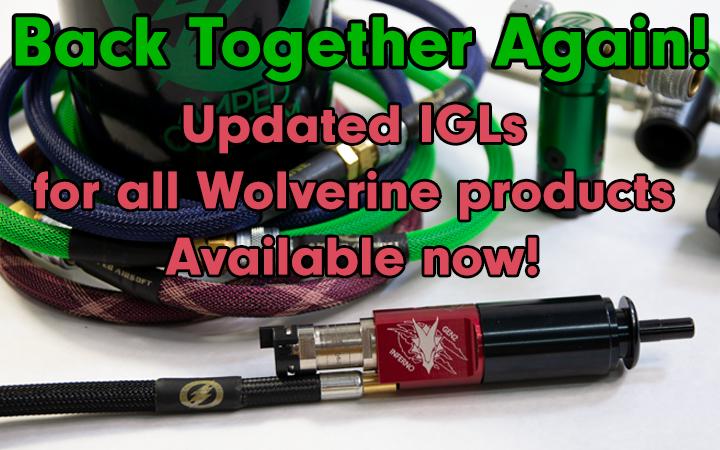 Amped Airsoft Wolverine IGL 2.0 It's new stuff
