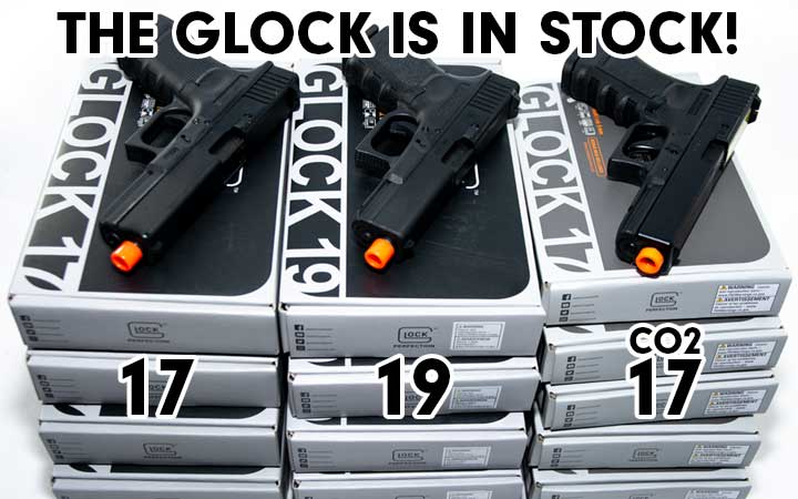 Elite Force Glock G17, G19, and G19 CO2