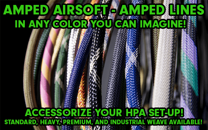 amped airsoft lines igl agl standard heavy premium industrial weave
