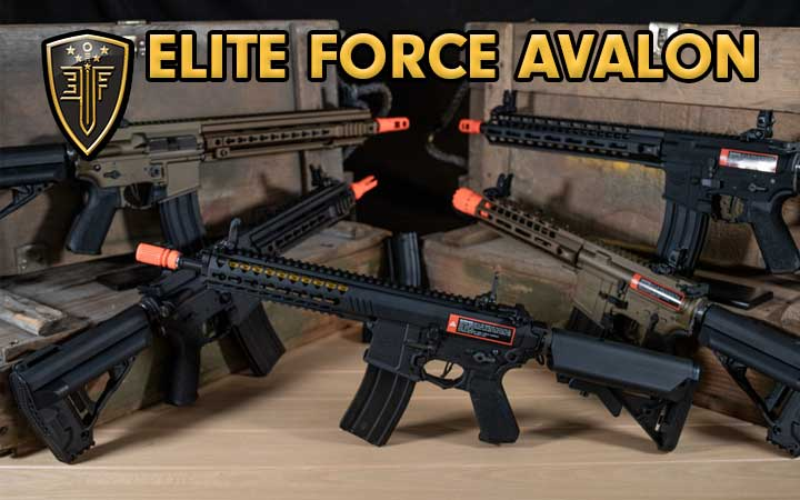 Amped Airsoft Elite Force Avalon Airsoft AEG by VFC