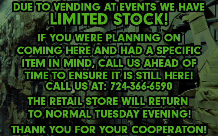 amped airsoft limited stock vending events broken home 8