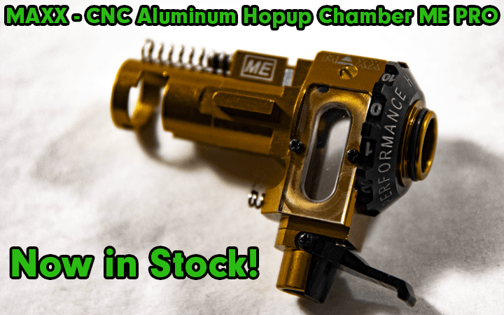amped airsoft maxx cnc aluminum hopup chamber me pro in stock hop up unit