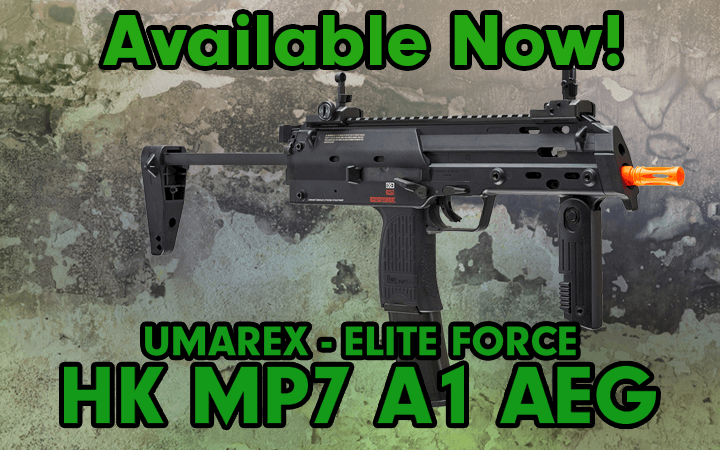 Elite Force MP7 A1 AEG Available Now!