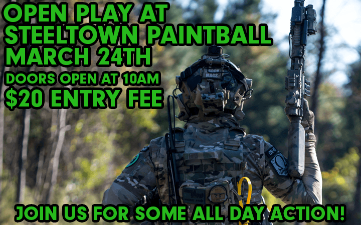 amped airsoft openplay at steeltown paintball natop outdoors airsoft event