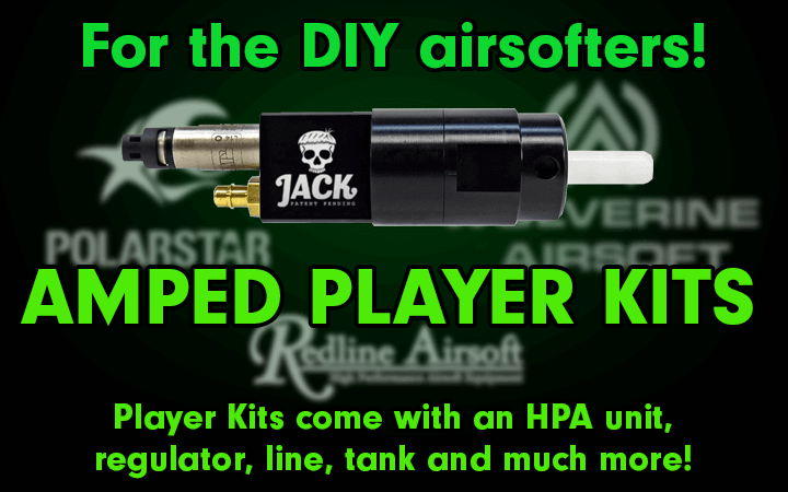 amped airsoft player kits diy hpa