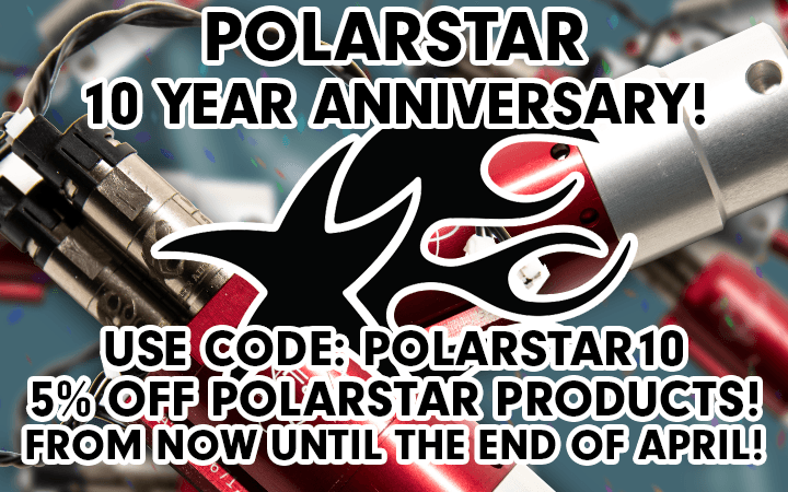 amped airsoft polarstar sale 10th anniversary  celebration deals