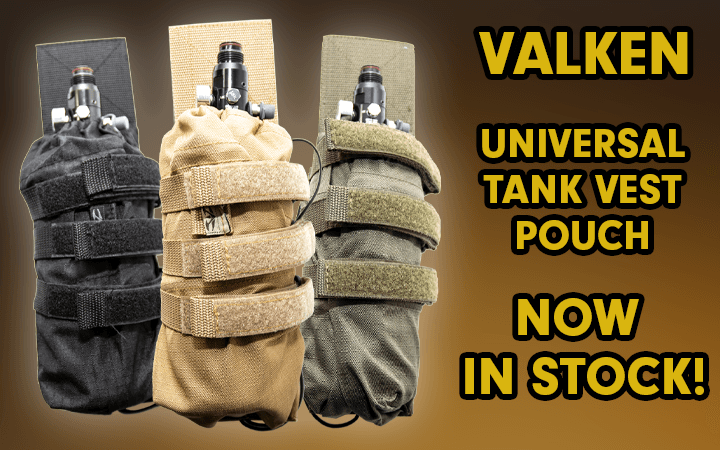 amped airsoft valken universal tank vest pouch now in stock