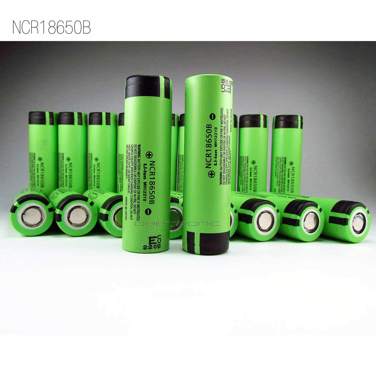 NCR 18650B Battery 3.7V 3400mAh Li-ion Rechargeable Cell For Torch Power