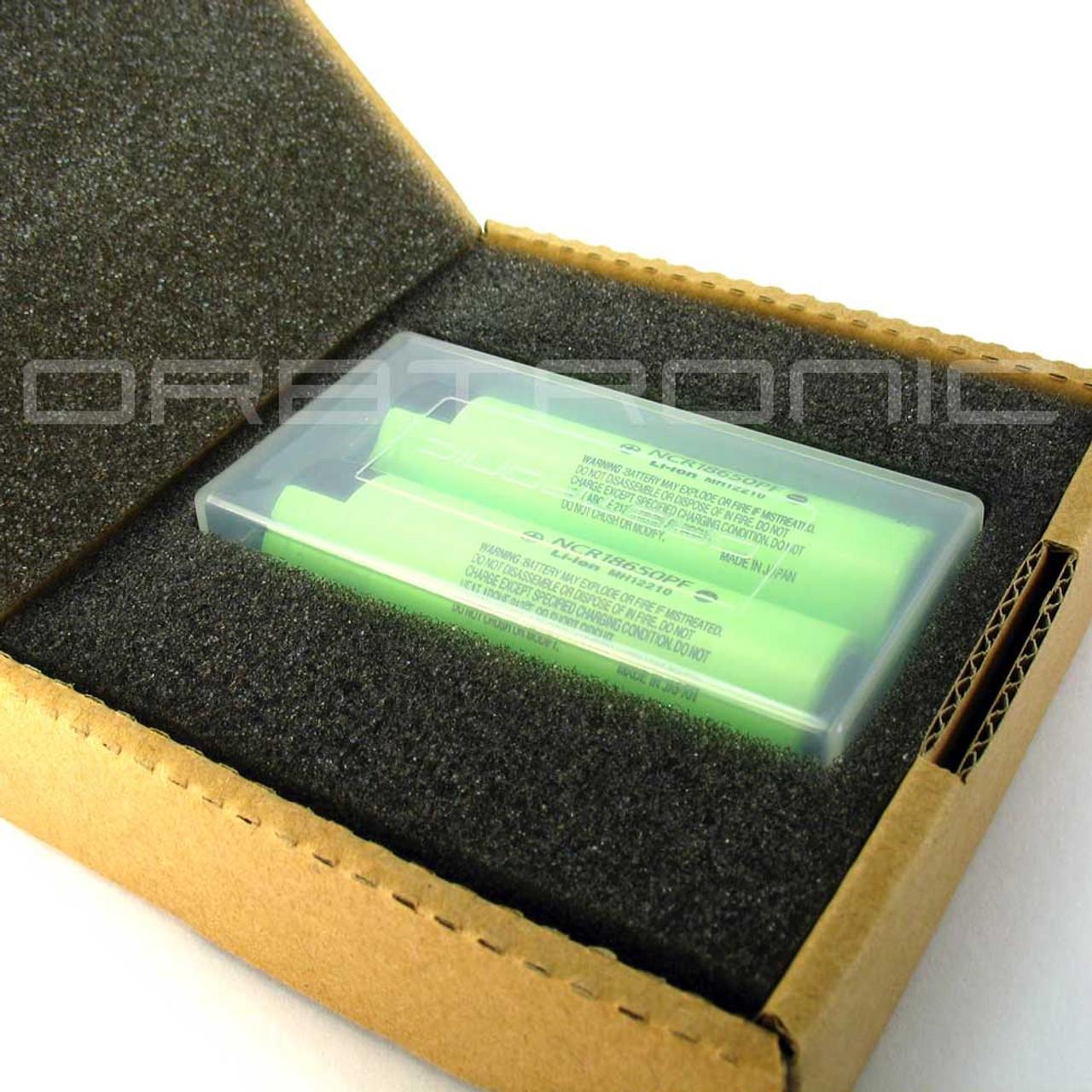 Panasonic NCR18650PF 2900mAh Li-ion Battery Flat-Top Unprotected 10A Cell