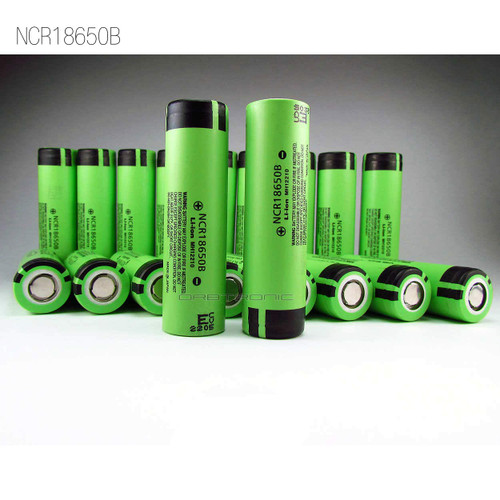 Panasonic 3400mAh 18650 Li-ion 3.7v Battery NCR18650B