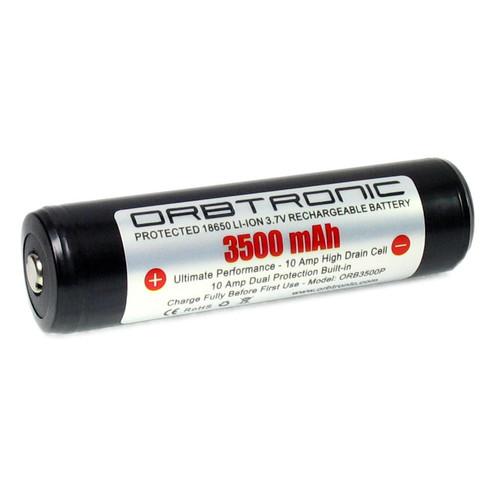 3500mAh Protected 18650 Battery