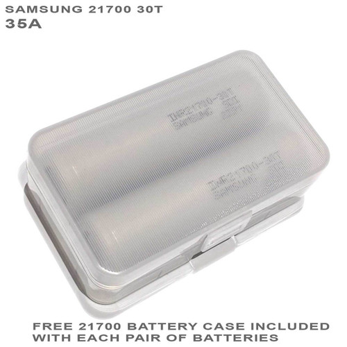 Samsung 30T 21700 Battery INR21700-30T CASE-HOLDER 35A
