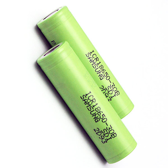 18650 Battery 3000mAh Samsung 4.35V Li-ion Rechargeable Flat top