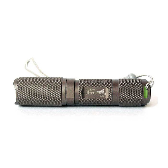 Ultra Portable A10 HA-III Cree Q5-WC HA-III 220-Lumen LED Flashlight (Runs on 1 AA or 14500 Battery)